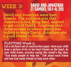 David and Jonathan lesson from north point