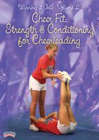 """Winning it All! Volume 2 - Cheer Fit: Strength & Conditioning for Cheerleading - with Saleem Habash,  8X UCA National Championship Coach,  former University of Kentucky Head Coach,  Coach and choreographer of the Dunbar (KY) HS Cheer squad featured in """"Cheerleader Nation"""" (Lifetime TV)"""