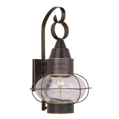 Cascadia Lighting OW21831 Onion Nautical Outdoor Sconce