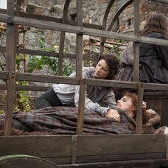 Jamie y Claire Imagen de farfarawaysite #JamieFraser #ClaireFraser…