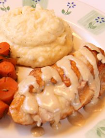Chicken Cordon Bleu. Love this delicious way to use up boneless, skinless chicken breasts!