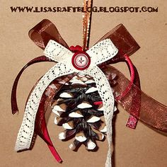 Pinecone Ornament T