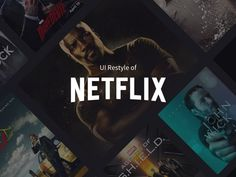 """Check out this @Behance project: """"Netflix UI Restyle"""" https://www.behance.net/gallery/44701943/Netflix-UI-Restyle"""