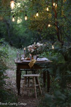 Inspired and romantic living, entertaining, traveling and decorating in a French Country Cottage in the California countryside. Outdoor Dining, Outdoor Spaces, Autumn Table, French Country Cottage, Romantic Cottage, Plein Air, Outdoor Entertaining, Dream Garden, Garden Inspiration