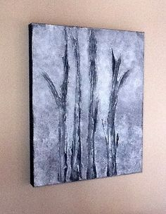 Contemporary abstract painting by mausart on Etsy, $125.00