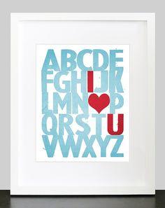 I love you - alphabet sign