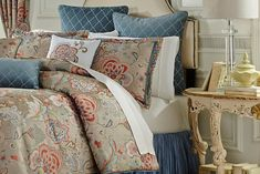 Biltmore-Virginia-Bedding-Collection I absolutely love the Virginia collection, and not just because I live in Virginia.  I haven't had a new bedding set in over 10 years and would love to win this!  I would be beautiful in my bedroom.