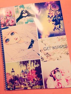 Tumblr notebook for back to school ^^