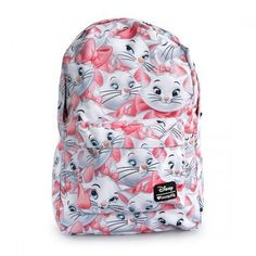 d10f0c9dff9 Loungefly Aristocats Marie Disney All Over Print Laptop Bag Backpack  WDBK0124