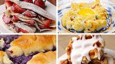 Top 10 Tasty Breakfasts - YouTube