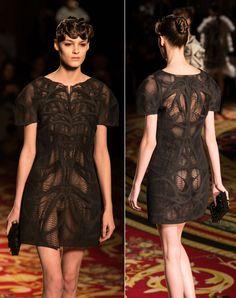 3D printed fashion on the Paris Runways from Iris van Herpen