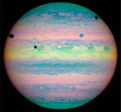 Triple Eclipse on Jupiter