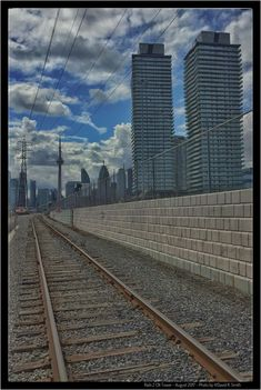 Rails 2 CN Tower - Daily photo by David R. Smith http://www.drsmithfoto.ca/ @drsmithfoto   --------------  #Canada150 #Skyline #Toronto #urbantoronto #angles #architect #building #CNtower  #architecturelovers #skyscraper #cities #citylife #architectureporn #architexture #lines #archidaily #archilovers #cityscape #geometry #lookingup #perspective #geometric #composition #abstract #pattern #skyline #arquitectura #город #downtown #yyx #drsmithfoto