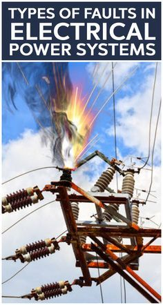 Electrical networks, machines and equipments are often subjected to various types of faults while they are in operation. When a fault occurs, the characteristic values (such as impedance) of the machines may change from existing values to different values till the fault is cleared.