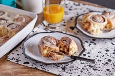 Isteni desszert: mázas fahéjas csigák Naan, French Toast, Sweets, Breakfast, Recipes, Seasons, Foods, Cakes, Sweet Pastries