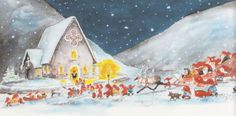 Mauri Kunnas Thank You Cards, Christmas Cards, Finland, Holiday, Stamps, Fun, Painting, Illustrations, Artists