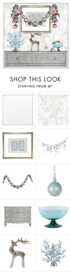 """""""Frosty Scene"""" by bloodshyft ❤ liked on Polyvore featuring interior, interiors, interior design, home, home decor, interior decorating, By Lassen, Graham & Brown, Trowbridge and Orlandi Statuary"""