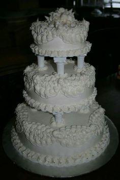 Best Vanilla Cake Recipe, Cake Recipes, Wedding Cakes, Desserts, Vintage, Pie Wedding Cake, Cakes, Brides, Wedding Gown Cakes