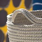 List of attractive matto virkattu ohje ideas and photos Crochet Home, Knit Crochet, Art Bag, Korit, Crochet Fashion, Baby Shoes, Victorian, Rugs, Knitting