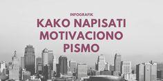 Kako napisati motivaciono pismo INFOGRAFIK