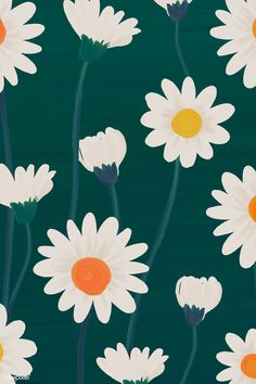 Hand drawn daisy patterned background vector premium image by rawpixel manotang vector vec Hand drawn daisy patterned background vector premium image by rawpixel manotang vector vec Inez Pollack Christmas wallpaper nbsp hellip Daisy Wallpaper, Iphone Background Wallpaper, Pastel Wallpaper, Aesthetic Iphone Wallpaper, Aesthetic Wallpapers, Phone Backgrounds, Illustration Blume, Pattern Illustration, Daisy Pattern