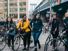 We Bike NYC - A group in New York City are pushing to get more women on two wheels