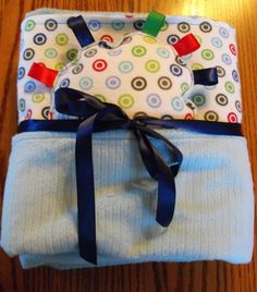 Large size flannel and minky blanket by BlessingsandBabies on Etsy, $30.00