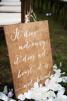In just one year, Amanda's family turned a newly purchased property into a stunning country wedding venue for their daughter.  A ceremony in the apple orchard, a crystal-dripped tent, wedding pooches and odes to the couple's hunting hobby are just a few of this wedding's stunning details. Photo taken by @elizcraigphoto