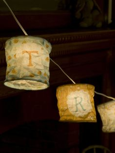 DIY Lanterns - Print Your Own Paper