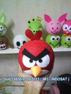 Lampion Benang Jahit Angry bird