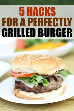 5 Hacks for a Perfectly Grilled Burger - just in time for summer with @PepperidgeFarm Hamburger Buns #ad #RespecttheBun #burgers #grilling #bbq #summertime