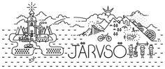 Jarvso Sweden simple tattoo design