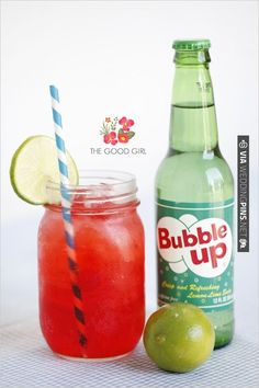 wedding drink ideas for those who are underage, the good girl - our take on the shirley temple. (: | CHECK OUT MORE IDEAS AT WEDDINGPINS.NET | #weddingfood #weddingdrinks