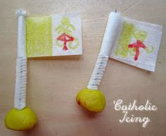 How to Craft a Papal Flag.