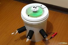 DIY Air Conditioner you can make for $15. This can be built to be battery-operated or plugged into a USB port!