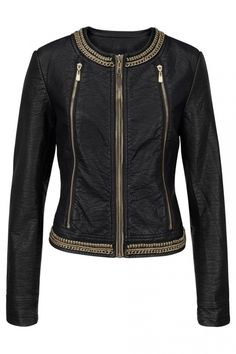 Melrose Faux Leather Jacket At Lookagain.co.uk, £95