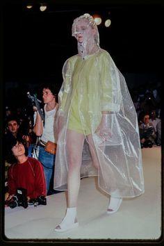 Anne-Marie Beretta fashion show, s/s 1981. Photo © Paul van Riel / HH.