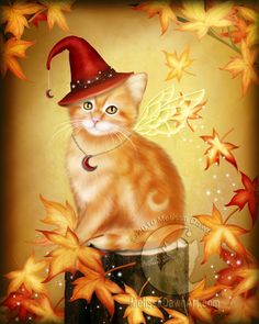 Autumn Cat Magic