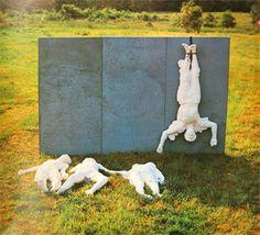 George Segal The Execution 1967 Political Art, Political Events, George Segal, Activist Art, Modern Art Sculpture, Pop Art Movement, Plaster Art, Public Art, Installation Art