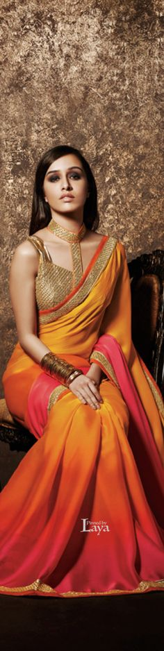 Mulricolor Satin Saree❋Laya