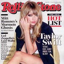 Taylor's on the cover of the Rolling Stone