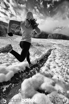 Running from Fall by Adam Barker/AdamBarkerPhotography.com on 500px