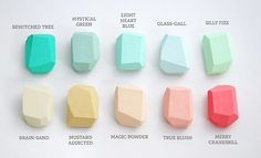 Making Pastels Zingy + Fresh! by decor8, via Flickr