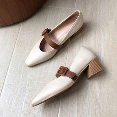 Chiko Arielle Pointed Toe Block Heels Pumps