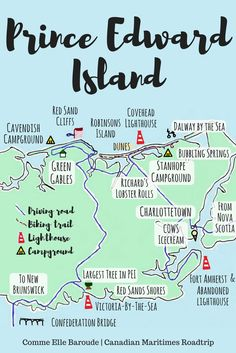 What to do for 3 days and 2 nights on Central Coastal Prince Edward Island, Canada East Coast Travel, East Coast Road Trip, East Coast Canada, Pvt Canada, Voyage Canada, Canadian Travel, Atlantic Canada, Prince Edward Island, Trip Planning