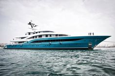 Turquoise Yachts launches the new superyacht Go