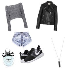Untitled #9 by sila-gokkdere on Polyvore featuring polyvore fashion style Boohoo IRO NIKE Karen Kane Kate Spade