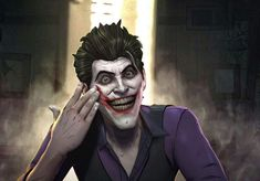 One of the most amazing realistic Joker ( John Doe ) art from batman the enemy within