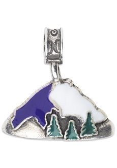 Nomades - Fort Lewis - Fort Lewis, WA. located just about 10 miles southwest of Tacoma. In addition to be close to Tacoma, Fort Lewis is about 60 miles from Mount Ranier National Park. Our Fort Lewis charm is a .925 sterling silver mountain with Ft Lewis inscribed on the back.