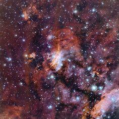 The Prawn Nebula in close-up Credit: ESO